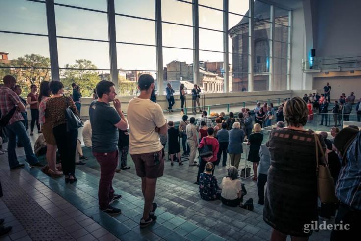 """Vernissage de l'expo """"Empreintes""""- Cité Miroir, Liège"""