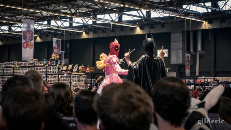FACTS Spring Edition 2018 : cosplay Deadpool et Batman