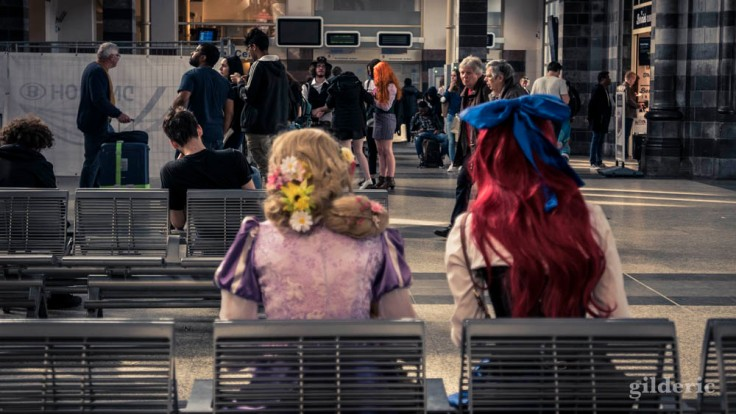 FACTS Spring Edition 2018 : princesses Disney en gare de Gand