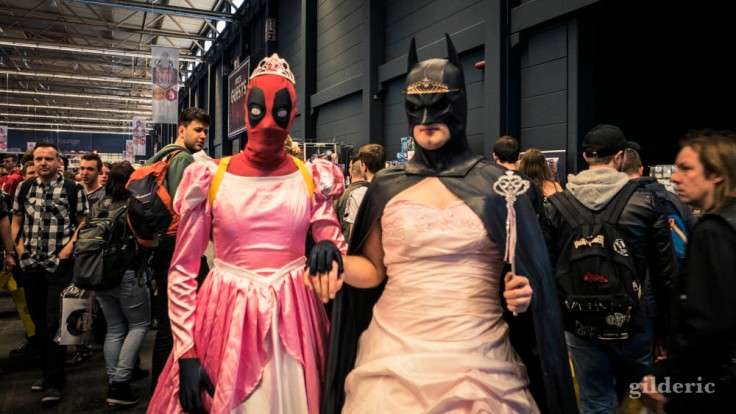 FACTS Spring Edition 2018 : Batman rencontre Deadpool (crazy cosplay)