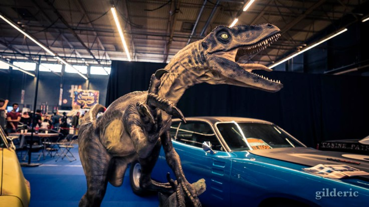 "FACTS Spring Edition 2018 : le vélociraptor de ""Jurassic World"""