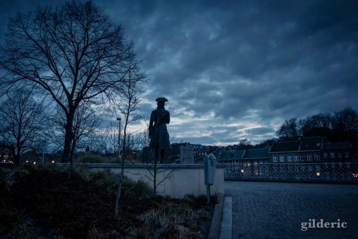 Le guetteur (statue de Pierre le Grand, Liège)