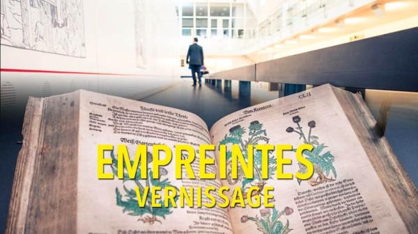 Vernissage d'Empreintes, une exposition à la Cité Miroir