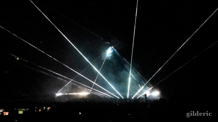 """Roger Waters """"Us + Them Tour"""" live à Anvers : Brain Damage/Eclipse"""