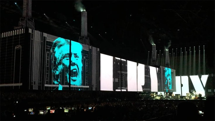 "Roger Waters ""Us + Them Tour"" live à Anvers : Waters vs Trump"
