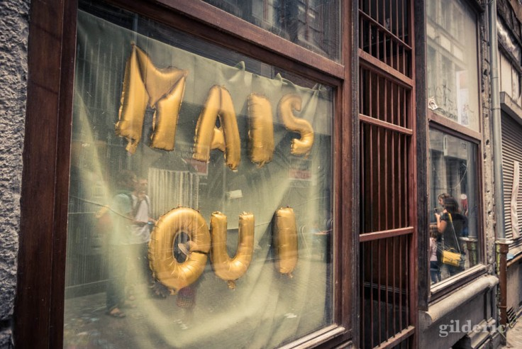 La Rue aux enfants en Neuvice (Liège) : Mais oui