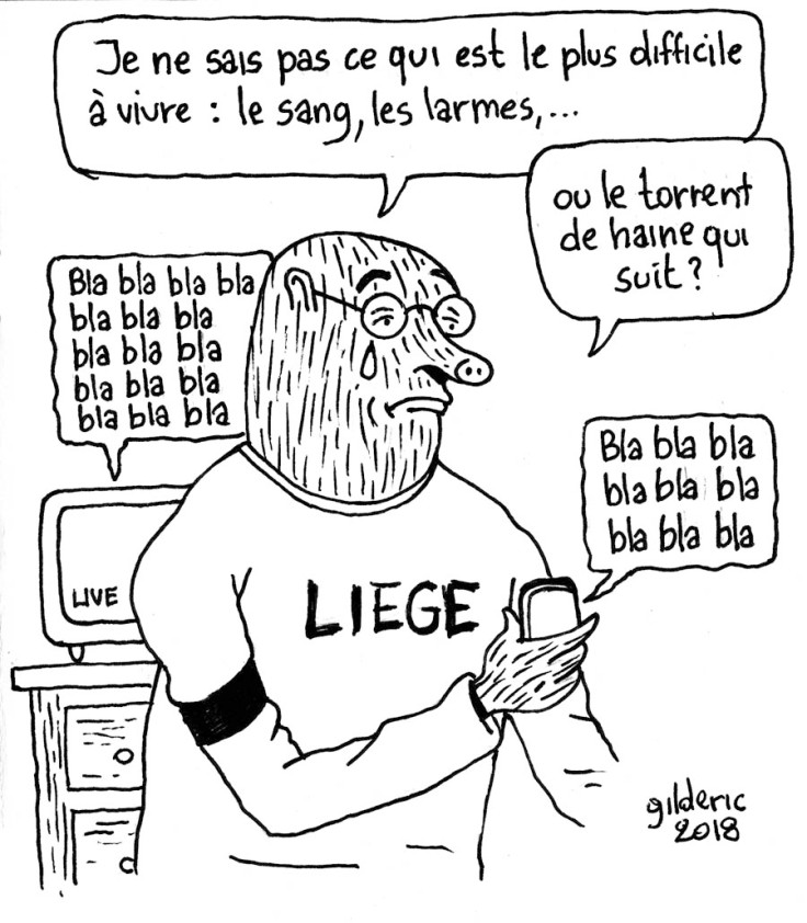 Taupe Chef : hommage à Liège