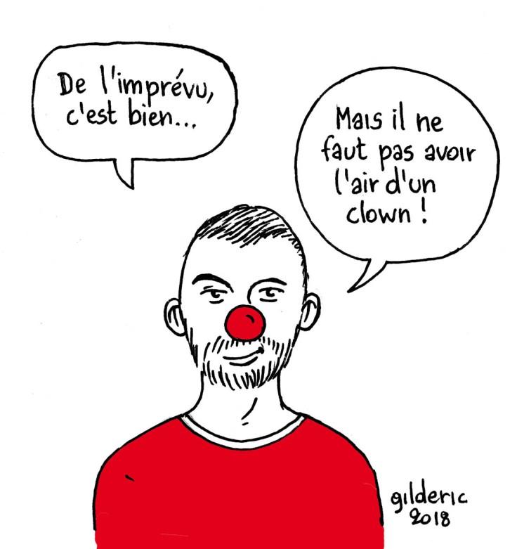 Réussir sa bande-annonce YouTube (dessin) : ne pas avoir l'air d'un clown