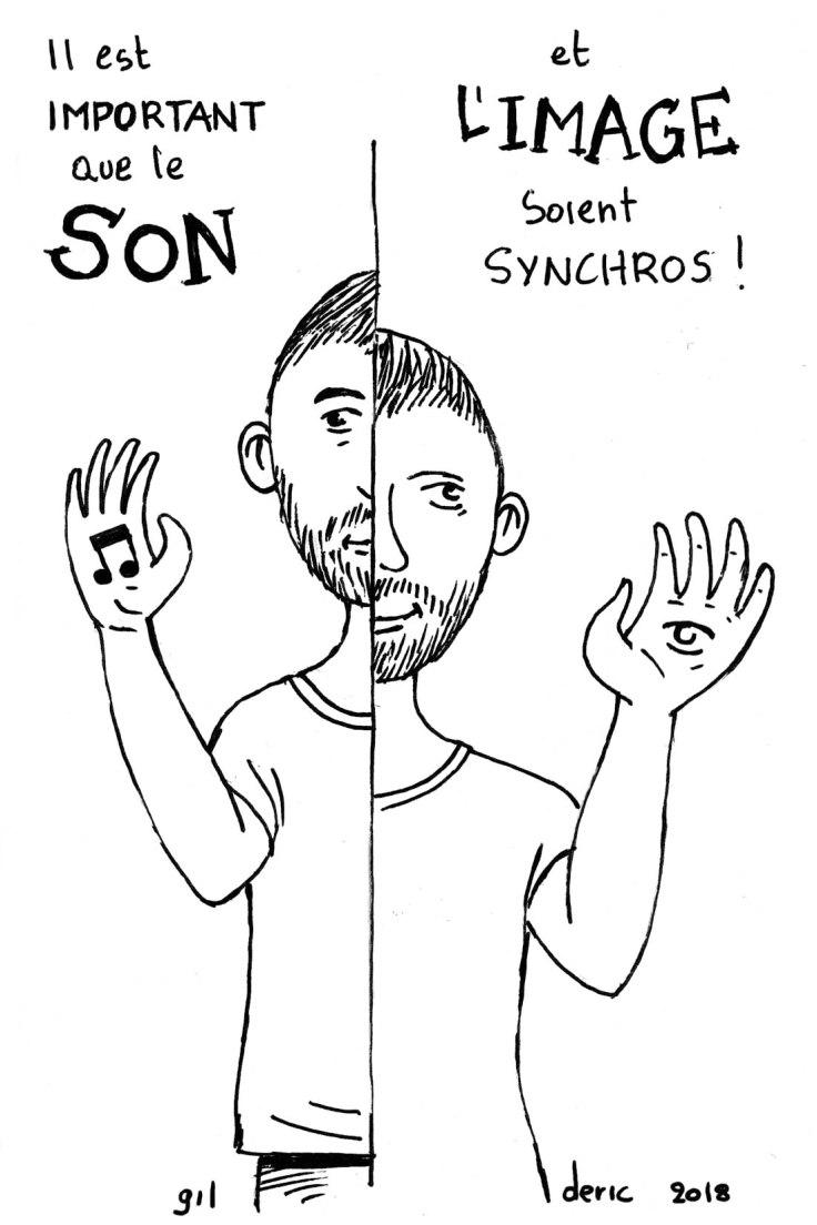 Réussir sa bande-annonce YouTube (dessin) : images et son synchros !
