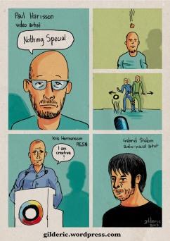 Nothing Special - Kikk 2013 - reportage en dessins