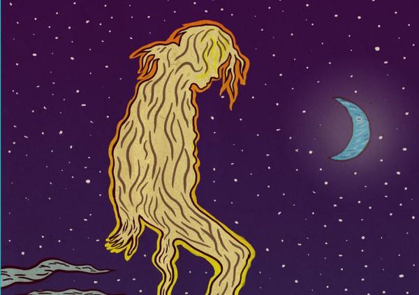Illustrations personnelles : Moonwalking (detail)