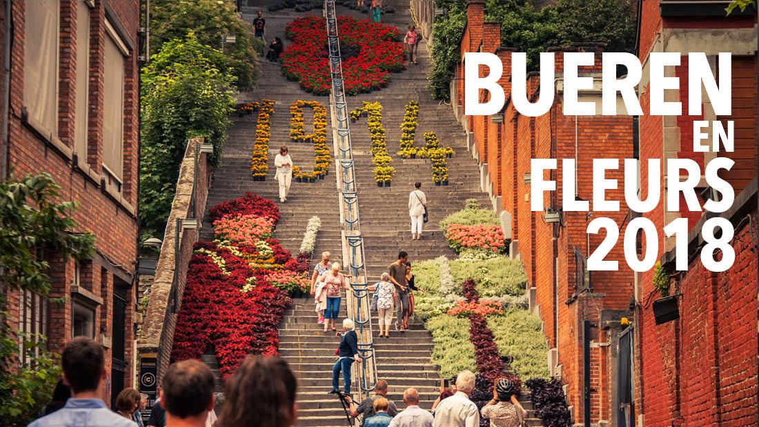 Bueren en fleurs 2018 à Liège