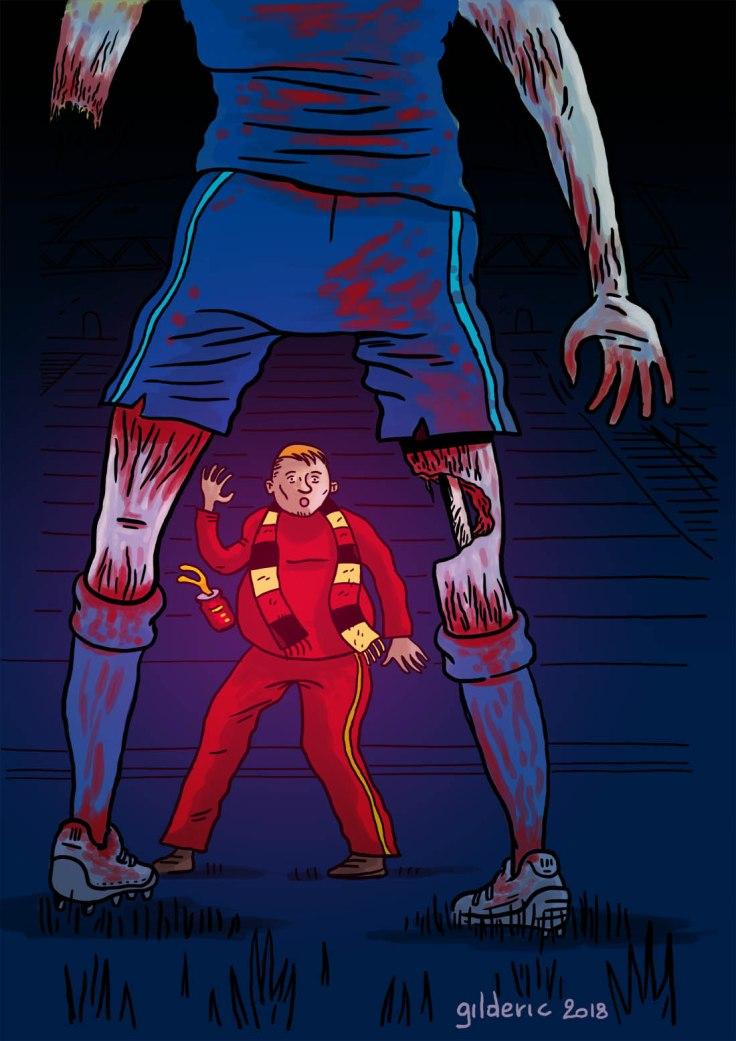 Foot Zombie 2018