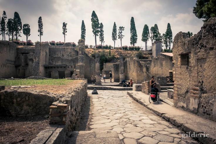 Visite d'Herculanum