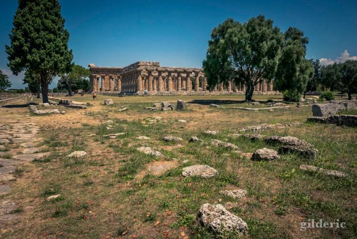 Le site gréco-romain de Paestum