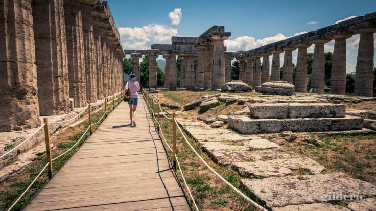 Temple d'Héra à Paestum