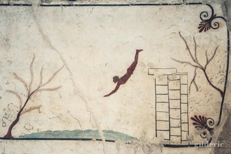 La tombe du plongeur au musée de Paestum