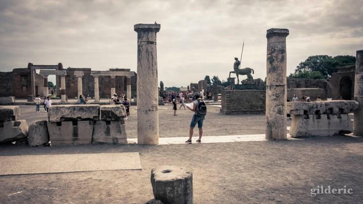 Visite de Pompéi (le Forum)