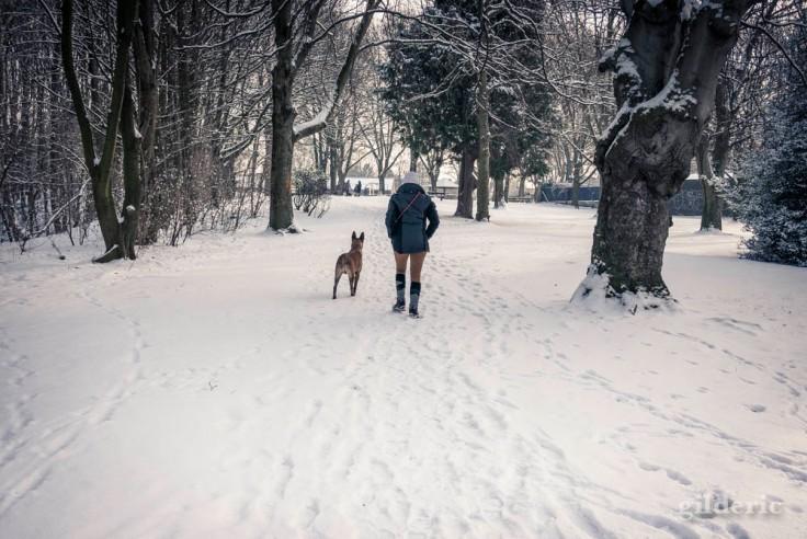 Retour en hiver... (Liège, mars 2018)