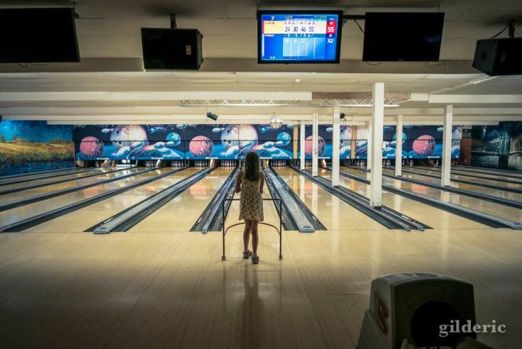 Faire un bowling...