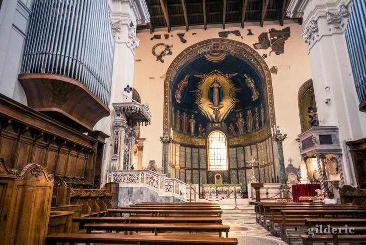 Intérieur de la cathédrale de Salerne