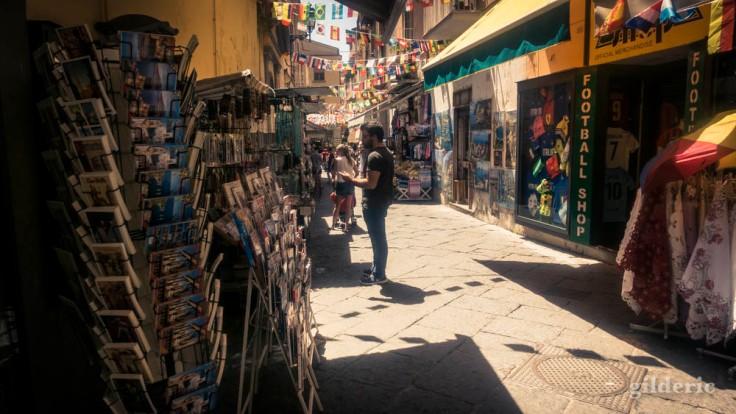 Dans les vieilles rues de Sorrente (Italie)