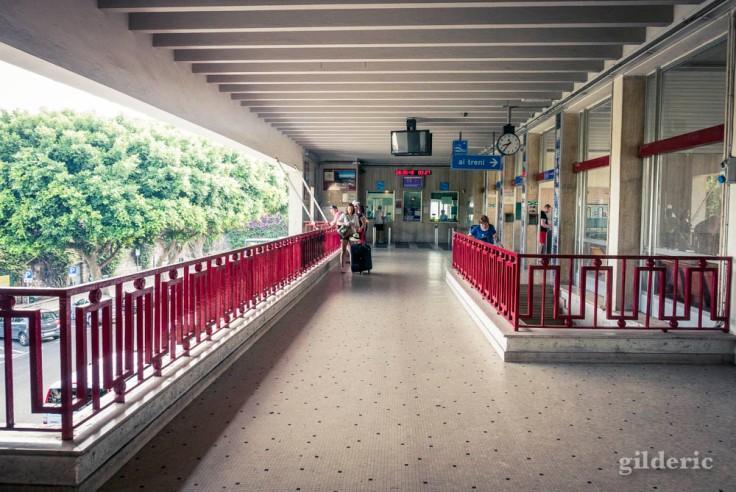 La gare de Sorrente