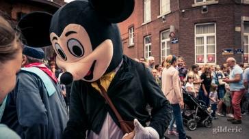 15 août 2018 en Outremeuse : Mickey Mouse