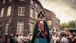 15 août 2018 en Outremeuse : géant conquistador