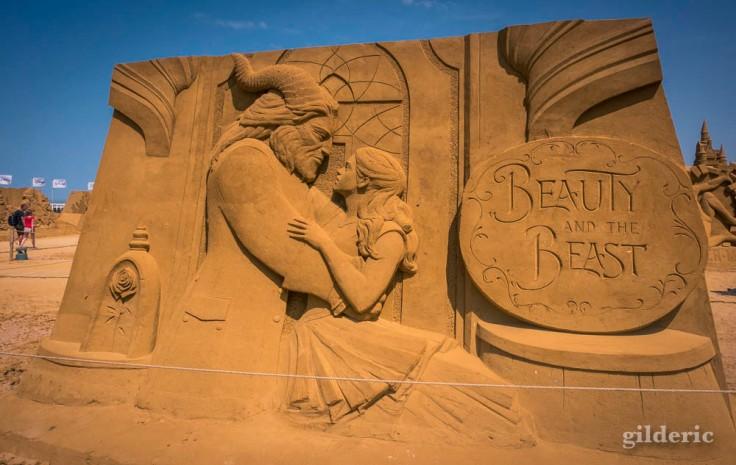 Disney Sand Magic 2018 à Ostende