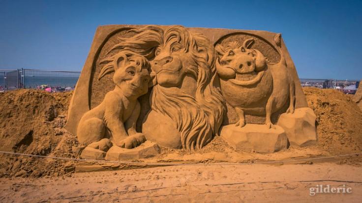 Disney Sand Magic 2018 à Ostende : Lion King