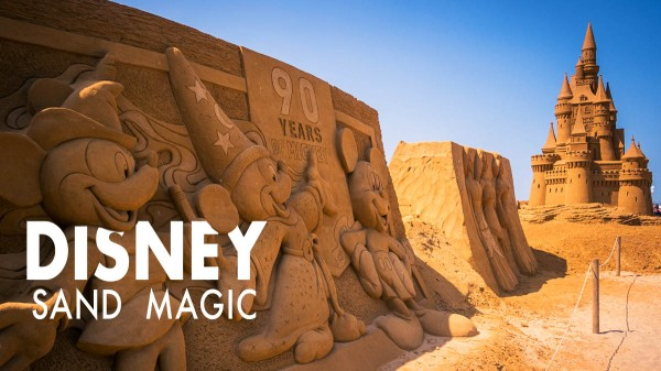 Disney Sand Magic à Ostende