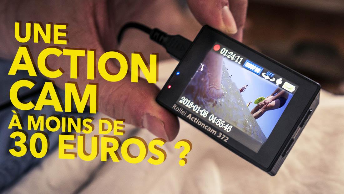 Rollei Actioncam 372 : Une action camera à moins de 30 euros ?