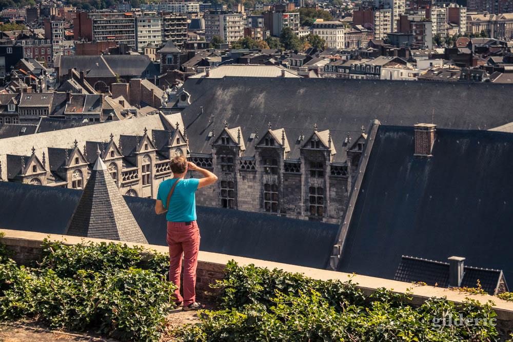 Balade sur les Coteaux et point de vue sur la ville de Liège