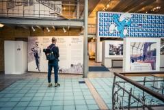 Au Musée de la BD à Bruxelles, on retrouve les Schtroumpfs et Horta
