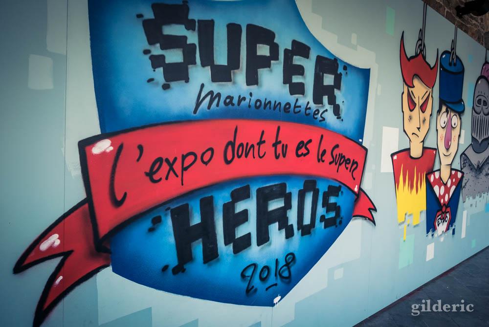 """Exposition """"Super Marionnettes, l''expo dont tu es le Super Héros"""" à Liège"""