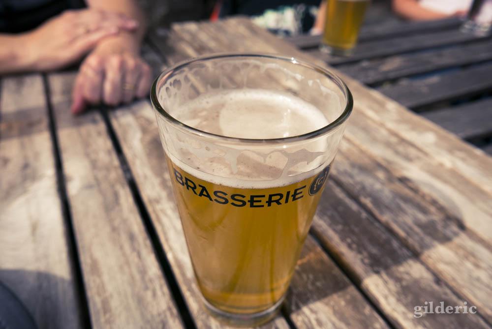 Se rafraîchir avec une bonne bière à la Brasserie Curtius