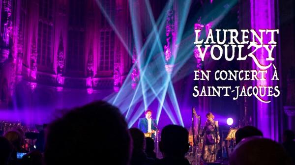 Laurent Voulzy en concert à Saint-Jacques (Liège) : photos et vidéo