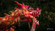 Les Contes mystérieux de la Chartreuse 2018 : danse du dragon chinois