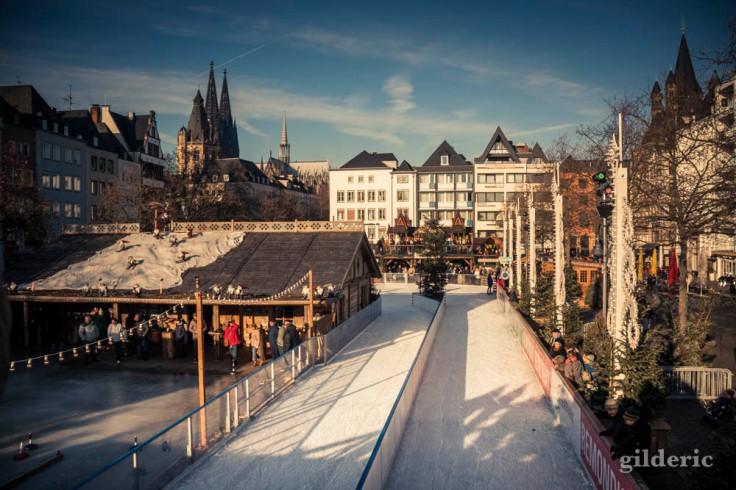 Sur le marché de Noël de Cologne
