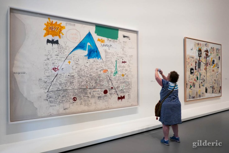 Expo Basquiat à la Fondation Louis Vuitton à Paris