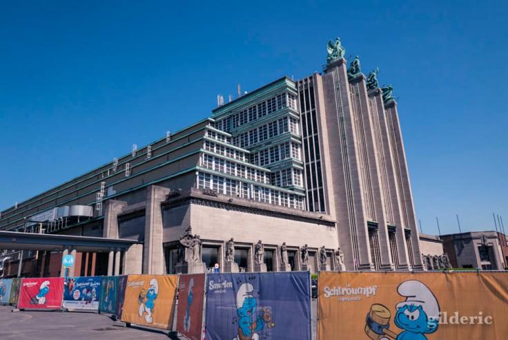Schtroumpf Expérience au Palais du Heysel à Bruxelles