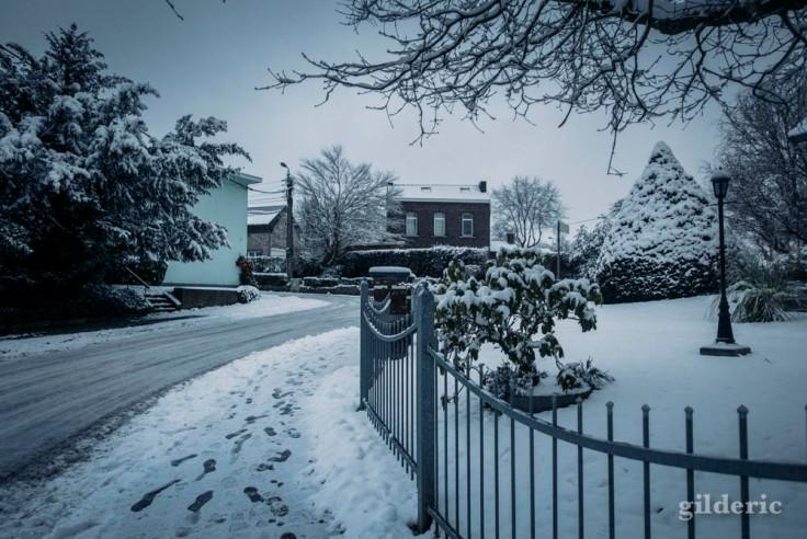 La neige au quotidien (Flémalle-Haute)