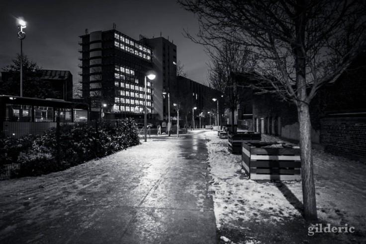La neige au quotidien (Liège)