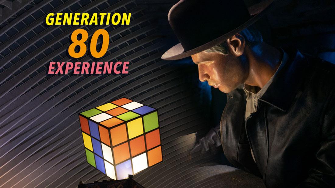 Génération 80 Experience : exposition à Liège-Guillemins