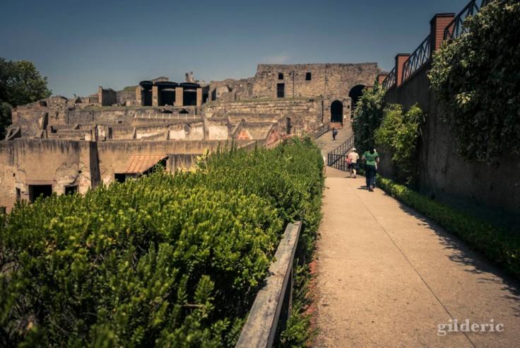 Entrée du site de Pompéi