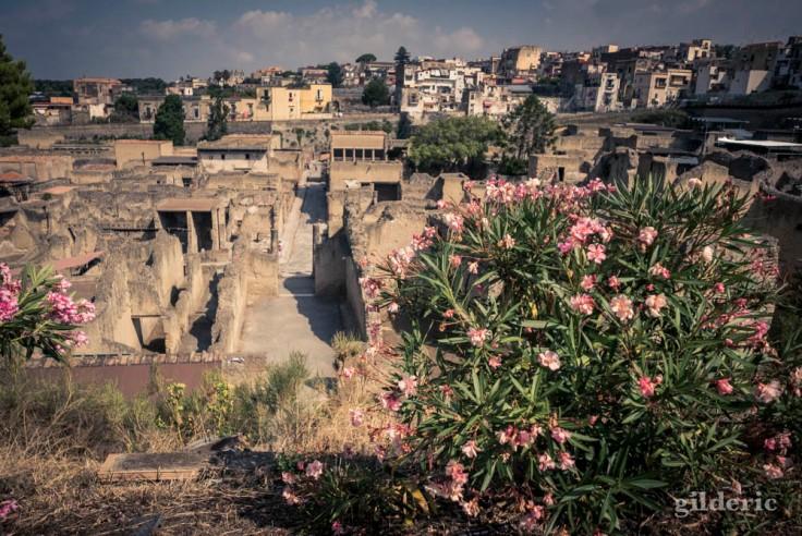 Le site archéologique d'Herculanum
