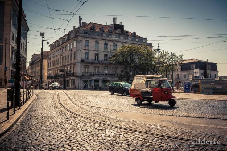Tuk-Tuk à Lisbonne (Portugal)