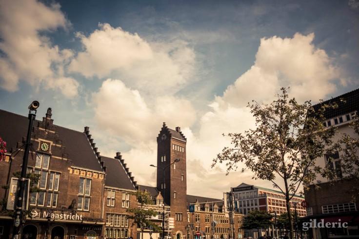 La gare de Maastricht