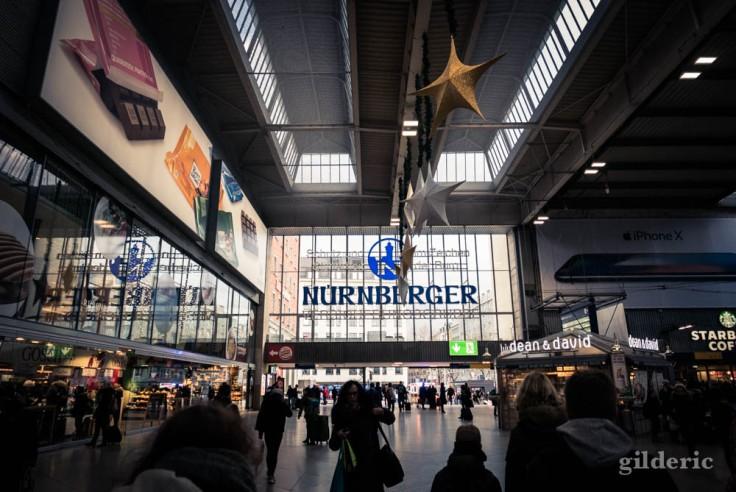 Gare de Munich (intérieur)